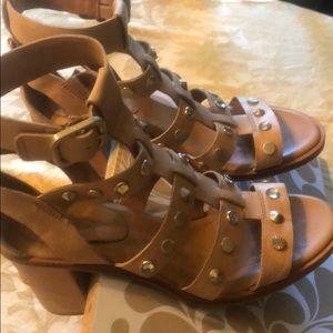UGG Australia Gladiator, studded sandals; 7.5